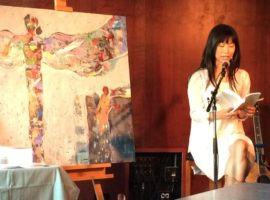 a childhood dream come true.  {a 1st reading from a soulful #spiritualwhitesapce book launch party}
