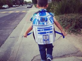 soul words feed the heart for the journey {caleb and R2D2}