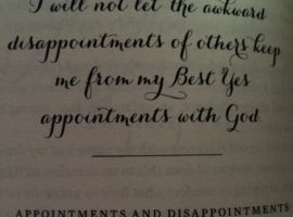 "from Lysa TerKeurst's newly released book ""The Best Yes"""