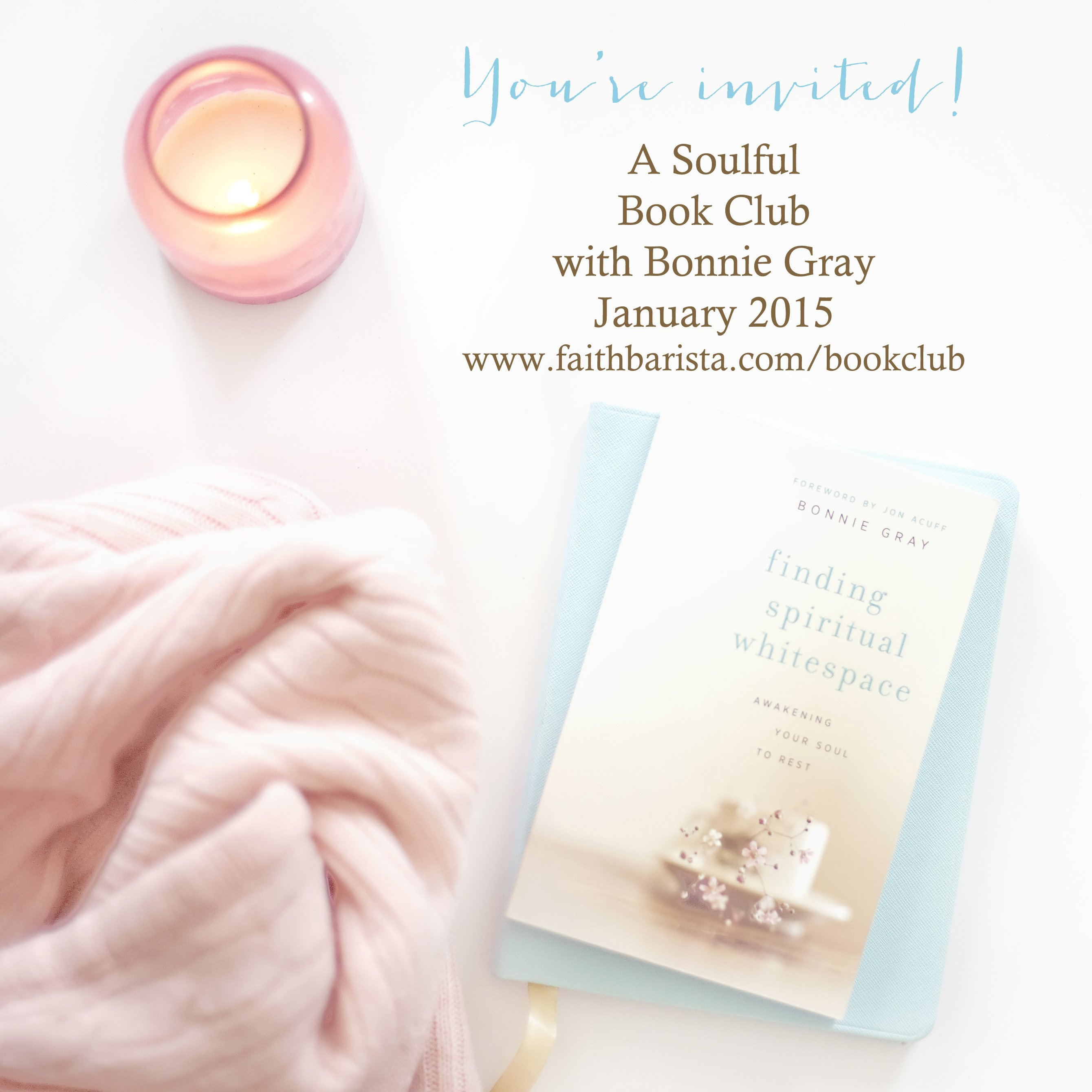 Finding Spiritual Whitespace Book Club
